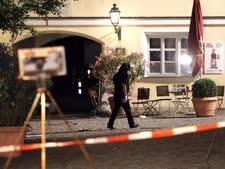 זירת הפיצוץ [צילום: מתיאס שרדר/AP]