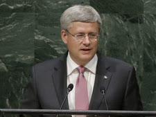 """""""האויב של קנדה הוא האיסלאמיזם"""". סטיבן הרפר, ראש ממשלת קנדה [צילום: AP]"""