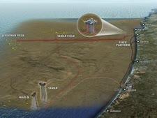 הולכת גז טבעי מהמאגרים בים התיכון לאשקלון