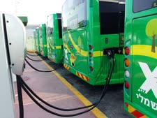 אוטובוסים חשמליים