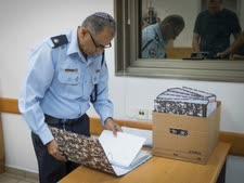 חוקר משטרה בפרשת בני שטיינמץ [צילום: פלאש 90]