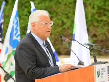 """שגריר ארה״ב בישראל, דיויד פרידמן [צילום: רפי בן חקון, ארכיון הצילומים של קק""""ל]"""