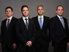 """מימין לשמאל: אייל פרידמן, מנור גינדי, כפיר גינדי ואורי לוי [צילום: יח""""צ]"""