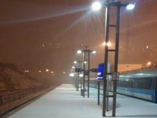 תחנת הרכבת בירושלים הערב [צילום: דוברות רכבת ישראל]