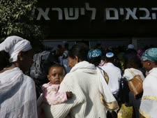 עולים מאתיופיה [צילום אילוסטרציה: מרים אלסטר, פלאש 90]