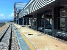 התחנה תישאר ריק לבינתיים [צילום: נתיבי ישראל]
