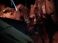 הריסות הבניין בעכו