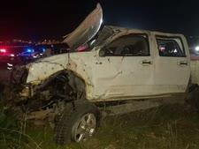 """תאונה בכביש החוף [צילום: דוברות מד""""א]"""