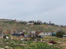 מאחז פלשתיני בלתי חוקי של שבט הרמאדין [צילום: תנועת רגבים]
