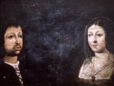 איזבלה מקסטיליה ופרדיננד מאראגון [ציור: Agustinas de Madrigal]