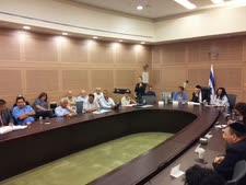 ישיבת הוועדה
