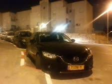 מכוניתו של בינמו בחניה האסורה סמוך לביתו