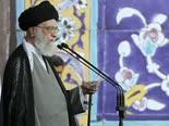 חמינאי. נאום מטופש [צילום: Office of the Iranian Supreme Leader via AP]