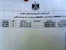 תעודת הפטירה של מוחמד דף
