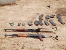 """התחמושת שנמצאה אצל המחבלים [צילום: דו""""צ]"""