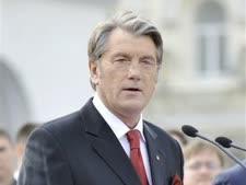 ויקטור יושנקו, נשיא אוקראינה [צילום: AP]