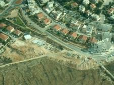 חלקת הקרקע שבמחלוקת [צילום: שלום עכשיו]