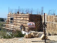 בניית הבתים נעצרה באמצע