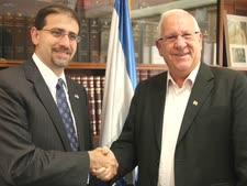 """יו""""ר הכנסת והשגריר האמריקני. שינוי תמונת המצב הפוליטית [צילום: דוברות הכנסת]"""