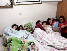 """ילדים בממ""""ד. הקבלנים דרשו פיצוי על התייקרות התשומות [צילום: פלאש 90]"""
