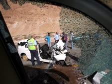 תאונות דרכים. מכת הכבישים בישראל [צילום: פלאש 90]