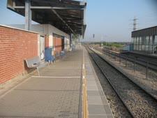 """תחנת הרכבת בכפר חב""""ד [צילום: אלי אלון]"""