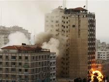 תקיפה ישראלית בעזה [AP]