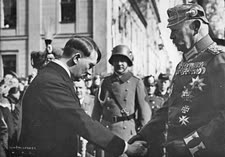 היטלר מונה כחוק בידי פון-הינדנבורג