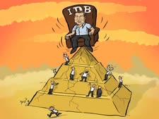 פירמידת השליטה. עוד לא הוגבלה בישראל [איור: שי צ'רקה/מקור ראשון]