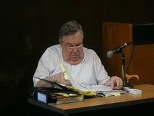 """דכנר. """"זייף צ'קים בחדר החקירות"""" [צילום: פלאש 90]"""