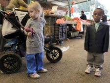 ילדים בשוק שדרות. חיים מקסאם לקסאם [צילום: פלאש 90]