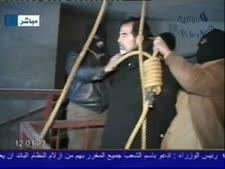 סדאם חוסיין על הגרדום [צילום: Handout, אימג'בנק/מראות אימג']