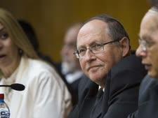 """יו""""ר ועדת הבחירות, השופט אליקים רובינשטיין [צילום: פלאש 90]"""