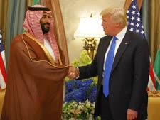 "נשיא ארה""ב ויורש העצר הסעודי [צילום: איוואן ווצ'י/AP]"