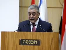 שגריר מצרים בישראל, חאזם ח'ייראת [צילום: יצחק הררי/דוברות הכנסת]