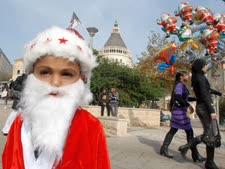חג מולד בנצרת [צילום ארכיון: גילי יערי/פלאש 90]