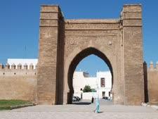 העיר סאלי במרוקו