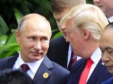 דונלד טראמפ וולדימיר פוטין [צילום: האו דין, AP]