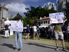 הפגנה נגד גזענות [צילום: תומר נויברג/פלאש 90]