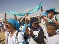 האירוע היום ביריחו [צילום: סבסטיאן שיינר/AP]