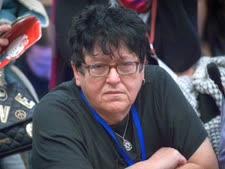 שפי פז, ממובילות המאבק לגירוש המסתננים [צילום: מרים אלסטר/פלאש 90]