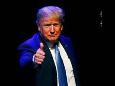 """נשיא ארה""""ב, דונלד טראמפ[צילום: ג'ון לוצ'ר/AP]"""