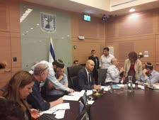 הוועדה המשותפת. אושר לאחר דיונים סוערים [צילום: דוברות הכנסת]