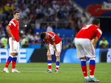 הרוסים אחרי ההפסד לקרואטיה [צילום: מנו פרננדז, AP]