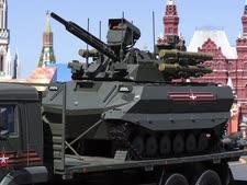 כלי נשק רוסי בלתי מאויש [צילום: פאבל גולובקין, AP]
