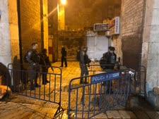 זירת הפיגוע הבוקר [צילום: משטרת ישראל]