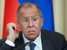 שר החוץ הרוסי סרגיי לברוב [צילום: אלכסנדר זמליניצ'נקו/AP]