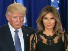 """""""זה לא תמיד נעים"""". מלאניה ודונלד טראמפ [צילום: מארק ישראל סלם/פלאש 90]"""