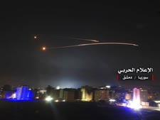 התקפה ישראלית בדמשק, 10.5.18 [צילום: AP]
