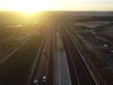 הדרך שמחברת בין כביש החוף (2) אל/מ 531 ואל/מ 20 [צילום: נתיבי ישראל]